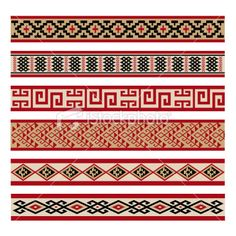 Indigenous Culture Patterns | Stock Illustration | iStock
