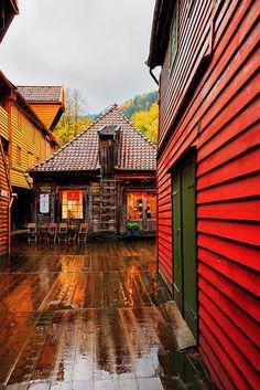 Bryggen, Norway photo via devon
