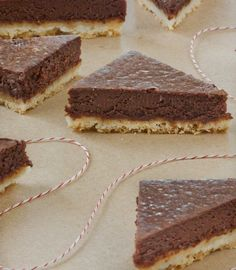 Recipe: Chocolate Truffle Shortbread Bars — Recipes from The Kitchn   The Kitchn