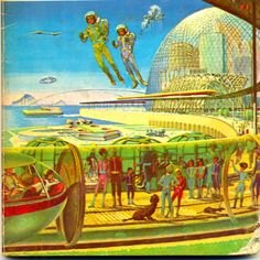 Yesterday's future is today.  Fred Freeman's jetpack future, 1966