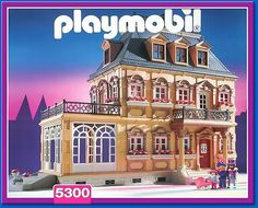 "Playmobil 1900 house // Maison ""Belle Epoque"""