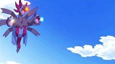 Hydreigon's Tri-Attack Pokemon Images, Pokemon Pictures, Board Games, Creatures, Manga, Bird, Artwork, Anime, Aliens