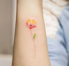 Small Floral tattoo                                                                                                                                                                                 More