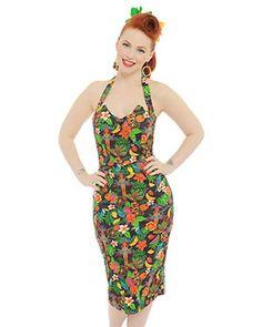 'Millie' Rio Jungle Print Pencil Dress