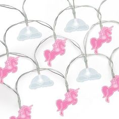 Light Your Own Fairy Unicorn Lights Rainbow LED String