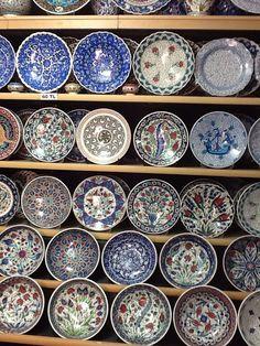 Hand painted plates,Turkey