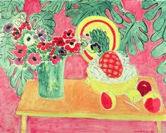 Henri Matisse, Pineapple and Anemones, 1940