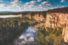 Река Ай, Башкирия, Южный Урал, Россия