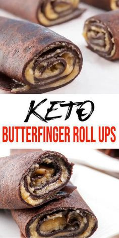 BEST Keto Butterfinger – Low Carb Keto Butterfinger Candy Roll Ups Recipe – Quick and Easy Ketogenic Diet Idea {Keto Chocolate Recipe} Tasty & easy low carb keto Butterfinger candy recipe w/ this roll Keto Chocolate Recipe, Chocolate Roll, Low Carb Keto, Low Carb Recipes, Galletas Keto, Keto Snacks, Keto Desserts, Roll Ups Recipes, Keto Candy