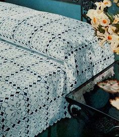 Crochet New Orleans Bedspread free Pattern ~ I would LOVE to make this someday! Crochet New Orleans Bedspread free Pattern ~ I would LOVE to make this someday!New Orleans Bedspread - free vintage crochet Pattern.