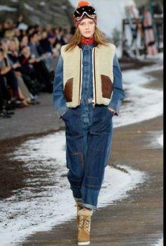 tommy-hilfiger-autunno-inverno-2014-2015-tuta  #hilfiger #tommyhilfiger #abbigliamento #clothes #womenswear #autunnoinverno2015 #autunnoinverno #autumnwinter2015 #autumnwinter #dress #womensfashion