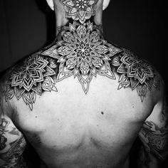 Head Tattoos, Tribal Tattoos, Sleeve Tattoos, Chest Tattoo, Back Tattoo, Geometric Sleeve Tattoo, Geometry Tattoo, Black Work, Tattoo You