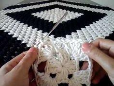 YouTube Crochet Edging Patterns, Crochet Designs, Crochet Stitches, Crochet Table Runner, Crochet Tablecloth, Crochet Flower Tutorial, Crochet Flowers, Crochet Stars, Free Crochet