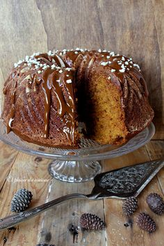 Bunt Cakes, Plum Cake, Almond Cakes, Trifle, Coffee Cake, Cake Recipes, Bakery, Food And Drink, Cooking Recipes