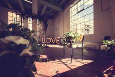 Bright space for ceremony Chocolate Factory, Alternative Wedding, Wedding Coordinator, Wedding Day, Bright, Weddings, Space, Pi Day Wedding, Floor Space