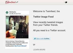 Una aplicación para filtrar las imágenes de tus amigos en Twitter.