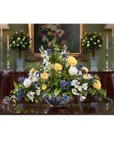 Silk Flower Centerpieces   Artificial Floral Designs