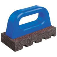 "Bon Rub Bricks are used to ""knock down"" high areas in concrete. Bon offer a large selection of grits and sizes."
