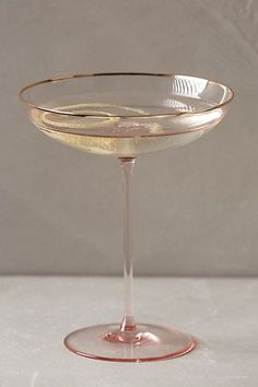 Gilded Rim Stemware - anthropologie.com Champagne Glasses Great Gatsby Style