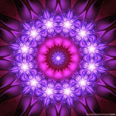Shades of Purple Fractal  -  Fractales