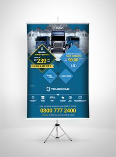 Banner em lona impressa em alta resolução para campanha de divulgação Ituran Rastreadores por Foco Design & Gráfica.