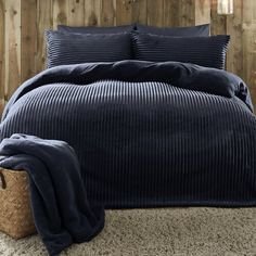 Duvet Sets, Duvet Cover Sets, Navy Duvet, Big Pillows, King Size Duvet, Sliding Wardrobe, Single Duvet Cover, Hanging Rail, Getting Out Of Bed