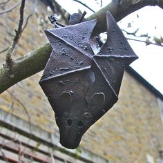 Metal Bat Garden Decoration