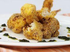 "Oven ""fried"" cauliflower"