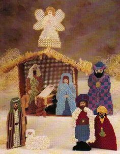 Plastic Canvas The Nativity