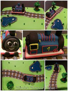 Torte Thomas, die kleine Lokomotive   Thomas, the Little Engine Cake