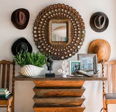 Home is where you hang your hat on a wall gallery.