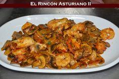Nada como tomar un apetecible revuelto a la manera de vuestro Rincón Asturiano de siempre!!! Saludos a todos!!!