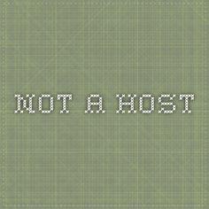 not a host