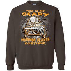 Scary Marimba Costume Long Sleeve/Sweatshirt