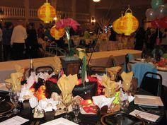 Asian themed fundraising