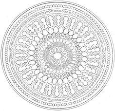 Top Mandalas Gratuits - Mandala Rond 1 - Mandalas à imprimer, mandalas à colorier, mandalas à télécharger gratuitement, mandalas pour adultes et pour enfants