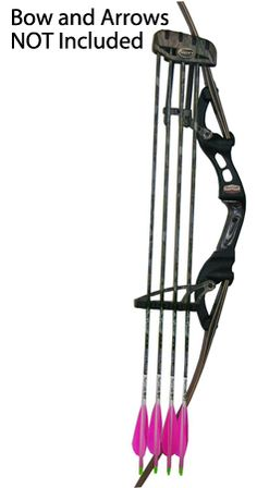 The Buffalo Pro Series Quiver's fixed mount design allows for the maximum span support for arrows, delivering silence while offering ideal balance. Bow Quiver, Broken Arrow, Bowhunting, Bushcraft, Archery, Wind Chimes, Garden Tools, Buffalo, Bows