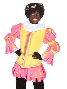 DANSPIET; is het jongste en nieuwste lid van De Club van Sinterklaas. Dit jaar moet ze haar Pietendiploma halen en dan mag ze mee met De Club van Sinterklaas naar Nederland en Vlaanderen.  Danspiet is vooral heel goed in dansen en zingen. Ze leert alle kleine en grote Pieten op de Pietenschool de nieuwste danspasjes. Danspiet is goede vrienden met Coole Piet.  Danspiet is een stoere en lieve meisjespiet. Haar geel met roze pak valt goed op! Creative Costumes, Special Events, Disney Characters, Fictional Characters, Disney Princess, Disney Princes, Disney Princesses, Disney Face Characters