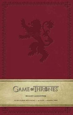 Game of Thrones - House Lannister Ruled Journal