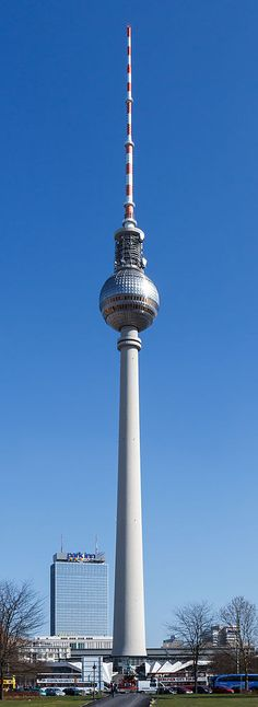 Berlin - Fernsehturm -Germany, the Telecafe rotates every 30 minutes