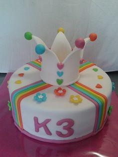 K3 taart (achterkant)