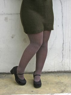 Pattern tights. Sweater dress. Mary jane heels shoes. Textures. fall outfit. winter outfit. fall fashion. winter fashion.