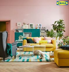 This year, make room for life. Find new living room inspiration and ideas for whatever your style, needs and ideas are.