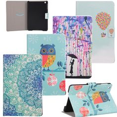 High Quality Painting PU Leather Slim Stand Case For Apple iPad mini Case Cover For iPad mini 1 2 3 7.9 inch  Tablet case