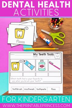 This dental health themed mini-unit is perfect for the month of February - or use it at any time during the year when you talk about teeth! Guide your students on their quest to pearly whites with this mini-unit that includes 10 dental health themed no-prep pages, a mini-book, sequencing and more!