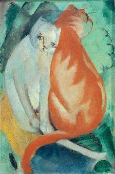 Franz Marc, cats