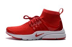 womens nike air presto red shoes