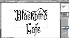 Patrick Kalange demonstrates how to create a design using the font LHF Old Iron by Steve Contreras. Using Adobe Illustrator CS5 he shows how to access the OpenType alternate characters with Illustrator's glyph palette.