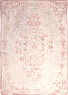Vloerkleed Oase - Roze - 160x230cm - wol  - By-Boo Rugs And Mats, Pink Carpet, Pink Room, Big Girl Rooms, Carpet Design, Kidsroom, Persian Rug, Rugs On Carpet, Carpets