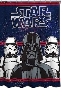 Darth Vader And Stormtroopers Shower Curtain Darth Vader Star